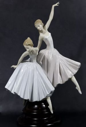 LLADRO FIGURINE 5035 MERRY BALLET Two Ballerinas RETIRED SPAIN for Sale in Covina, CA