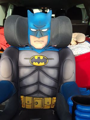 Batman high back booster seat for Sale in Clearwater, FL