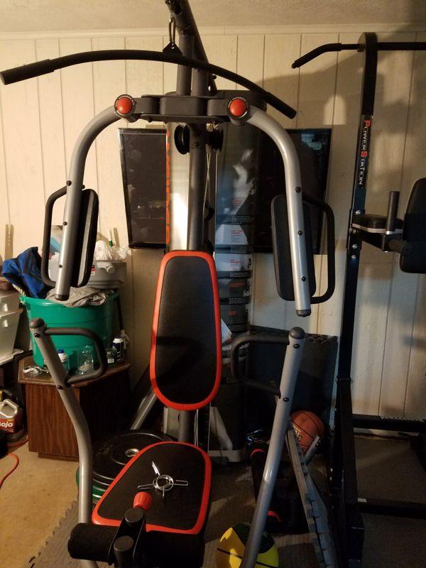 Weider pro 4300 free weight machine.