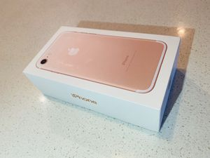 iPhone 7 128GB factory unlocked for Sale in Phoenix, AZ