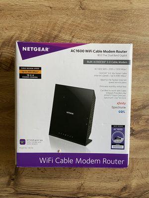 Netgear AC1600 WiFi Modem Router for Sale in Goodyear, AZ