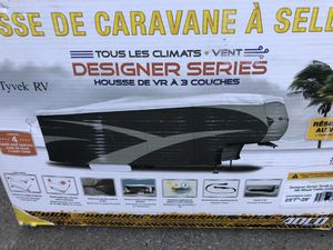 "5th wheel camper trailer DuPont tyvek cover 25' 7""-28' ADCO 34853 NEW for Sale in South Amherst, OH"