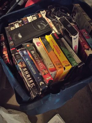 Box of vhs for Sale in Colorado Springs, CO