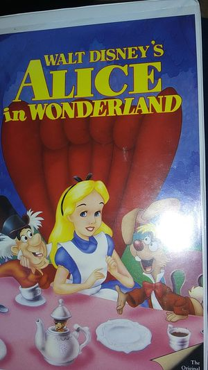 Disney Alice in Wonderland VHS (Black Diamond) for Sale in Hardeeville, SC