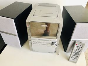 Panasonic CD Stereo System with remote for Sale in Burtonsville, MD