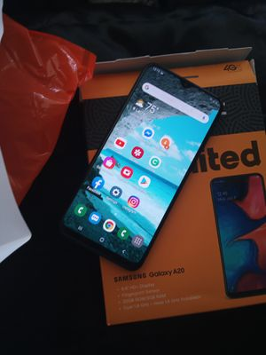 Samsung Galaxy A20 boost mobile for Sale in Laurel, MD