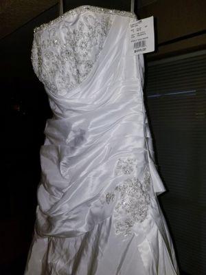 New David's Bridal Dress Sz8 for Sale in CORP CHRISTI, TX