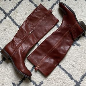 Sam Edelman Leather Prina Riding Boots Size 9 for Sale in East Windsor, CT