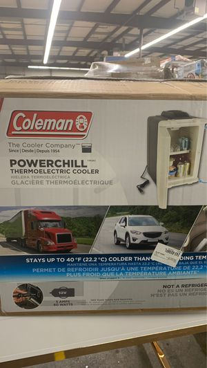 Coleman Powerchill Thermoelectric Cooler for Sale in North Haven, CT