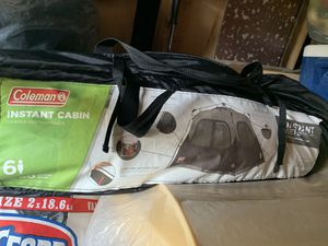 Coleman Instant Cabin 6 person used. (good condition) for Sale in Kent, WA