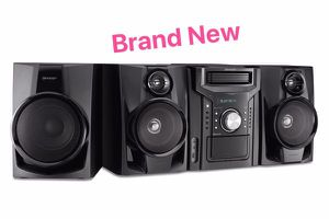 Mini Shelf Speaker/Subwoofer System Bluetooth Audio Equipo de Sonido Bocina Sharp CD-BHS1050 350W 5-Disc for Sale in Miami, FL