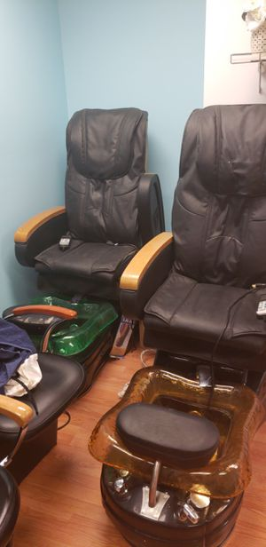 Pedicure chairs for sale for Sale in Pittsburgh, PA