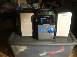 Used, Panasonic stereo system SA-pm29 cd dnt play just stereo for parts for Sale for sale  Brooklyn, NY