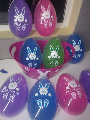 Big Easter egg personalized for Sale in Colton, CA