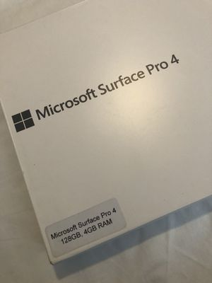 Microsoft surface pro 4. In good condition for Sale in Hialeah, FL