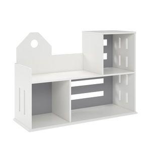 Novogratz Addison city Bookcase in white for Sale in Dallas, TX