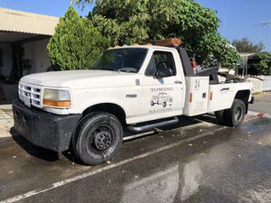 1997 ford f450 diesel 7.3 motor tow truck for Sale in March Air Reserve Base, CA