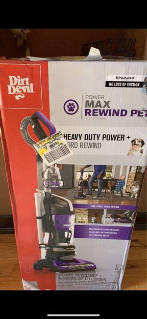 dirtdevil power max pet vacuum cleaner for Sale in Phoenix, AZ