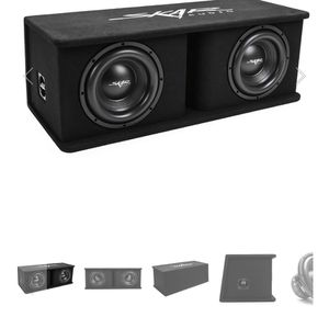 Skar Audio 10s Subs And Box Together for Sale in Porterville, CA