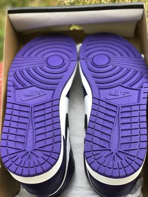 nike air jordan 1 court purple 2.0 for Sale in Woodbridge, VA