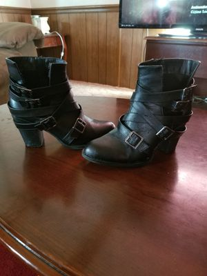 Black Strap Boots for Sale in Phenix, VA