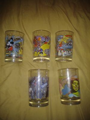 Collectible glasses Disney for Sale in Baltimore, MD