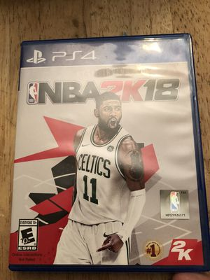 NBA 2k18 ps4 for Sale in Elmira, NY