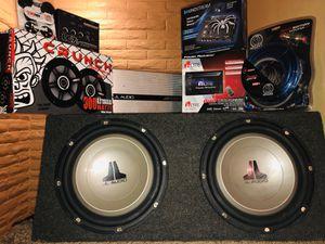 Car Audio System JL Audio!!!! for Sale in Mesa, AZ