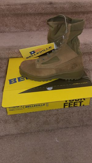 USMC Belleville 550st steel toe size 8 wide, 9 Reg and 10 reg for Sale in Escondido, CA