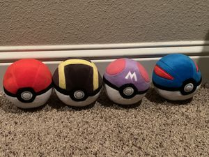Pokemon balls for Sale in Fresno, CA