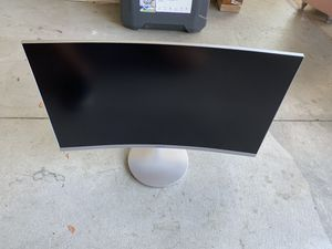 "Samsung 27"" curved monitor for Sale in Riverside, CA"