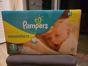 Pampers no 1 for Sale in Houston, TX