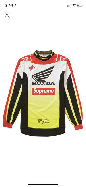 Supreme FW 19 Moto Jersey Top for Sale in Fishers, IN