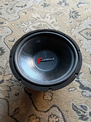 Formula 12 Inch Subwoofer peek 600 watts for Sale in Whittier, CA