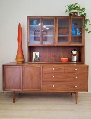 Mid Century Modern Drexel Kipp Stewart Dresser or Credenza with Hutch for Sale in Glendale, AZ
