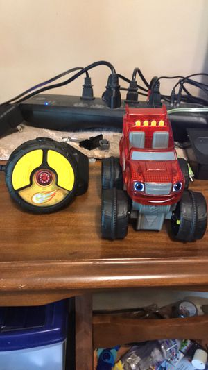 Blaze & The Monster Machines Remote Control Truck for Sale in Hudson, IL
