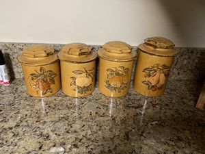 Antique canisters for Sale in Beaumont, CA