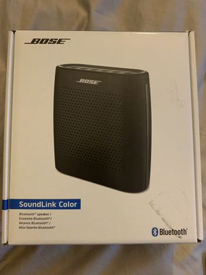 Bose sound link color $130 for Sale in Capitol Heights, MD
