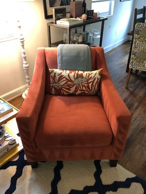 Orange Accent Armchair for Sale in Alexandria, VA