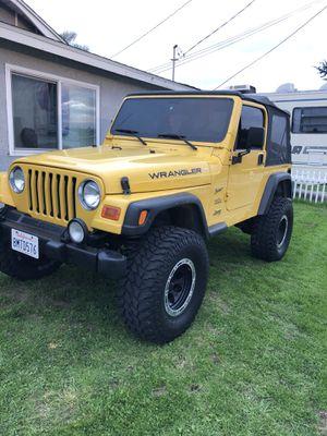 2002 Jeep Wrangler Sport for Sale in San Diego, CA