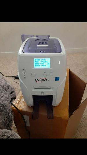 Pointman ID card printer for Sale in Corona, CA