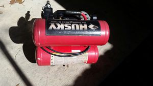 Husky Air Compressor works great for Sale in Houston, TX