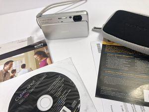 Sony cybershot carl zeiss DSC-T99 14.1MP for Sale in Salt Lake City, UT