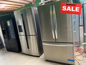 Samsung Kenmore Refrigerator Fridge With Icemaker AVAILABLE NOW! #1531 for Sale in San Antonio, TX