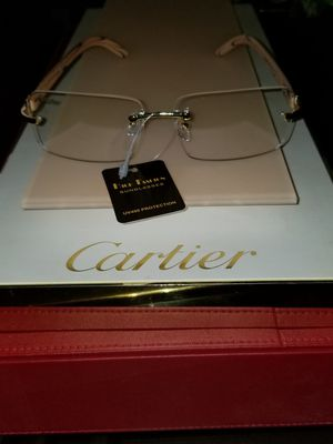 Cartier clear glasses very classy for Sale in Cleveland, OH