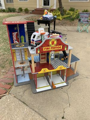 Fire station play set for Sale in Bartlesville, OK