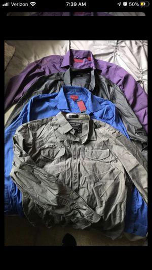 5 men's shirts for Sale in Pomona, CA