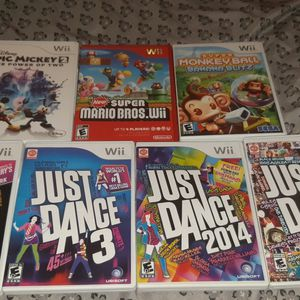 Assorted Wii Games for Sale in Everett, WA