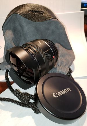 Canon Fisheye Lens 15mm f/2.8 for Sale in Manalapan Township, NJ