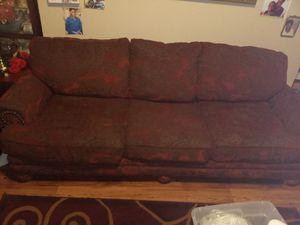 Nice Burgundy Comfortable Sofa for Sale in Fresno, CA